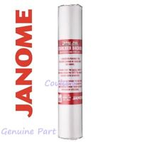 JANOME GENUINE EMBROIDERY BACKING IRON ON ROLL STABILISER 10m x 35cm TEAR AWAY