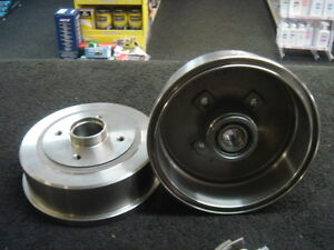 VAUXHALL TIGRA MK2 2004-2010 REAR BRAKE DRUM REAR WHEEL BEARING FITTED NON ABS