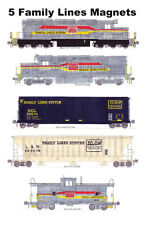 Family Lines Freight Train 5 magnets Andy Fletcher