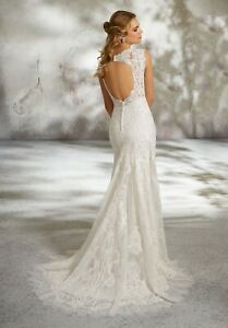Mori Lee 8288 Size 12 GENUINE Wedding Dress  Ivory With tags