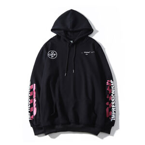 2021 Off White Supreme Hoodie Virgil Abloh Pyrex Vision Street Jumper Sweatshirt