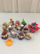 FISHER PRICE Little People Mixed Lot 20 Pieces People Animals Plane Chairs