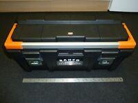 "BAHCO LARGE HEAVY DUTY TOOL BOX Genuine 650mm 26"" TOTE TRAY BRAND NEW! 4750PTB65"
