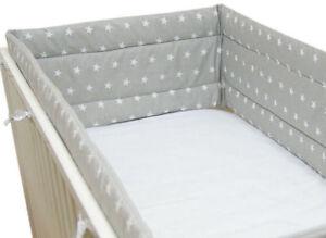 Bettumrandung Nestchen Kopfschutz 420  360 x 30cm Bettnestchen Baby Design NEU