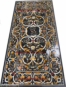 Table Top Grand Pietra Dura Marble Inlay Dining Art of Royal Court Furniture
