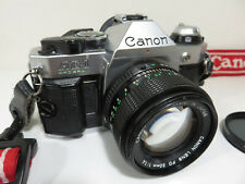 CANON AE-1 PROGRAM Camera With CANON FD 50mm 1:1.4 Lens /  Only $0.01!!! 👀🔥