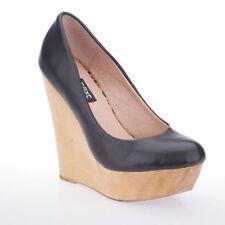 Wedge 100% Leather Upper Heels Women's NEXT