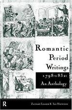 Romantic Period Writings 1798-1832: An Anthology, Literature, History, British,