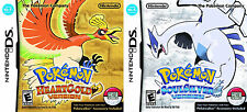 Pokemon HeartGold & SoulSilver Bundle Pack w/ Pokewalker [Nintendo DS DSi, RPG]