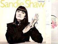 SANDIE SHAW hello angel (original uk & lyric inner) LP EX/VG ROUGH 110 pop rock