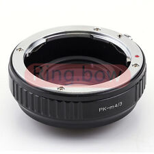 Focal Reducer Speed Booster Pentax PK to Micro 4/3 M4/3 Lens Adapter GH4 GM1 GX7