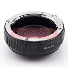 Focal Reductor velocidad Booster Pentax PK a Micro 4/3 M4/3 Lente Adaptador GH4 GM1 GX7