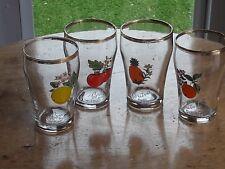 Small Britvic Pure Fruit Juice Glasses