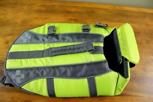 TOP PAW Neoprene Life Jacket - Sz Small S - Yellow with/ Gray