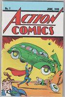 Action Comics #1 LOOT CRATE EXCLUSIVE REPRINT 1938 SUPERMAN W/ COA SEALED