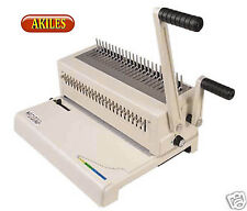 Akiles Megabind 2 Comb Binding Machine Amp Punch Also Does Spiral O Wire New