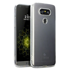 Genuine LG G5 Case Slim Rugged Protective TPU Flexible Gel Tech Rock Cover Clear