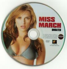 Miss March (DVD disc) UNRATED Zach Cregger, Raquel Alessi