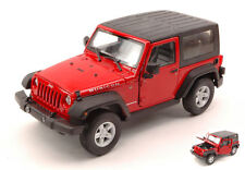 Jeep Wrangler Rubicon 2007 Soft Top Red 1:24 Model 22489CR WELLY
