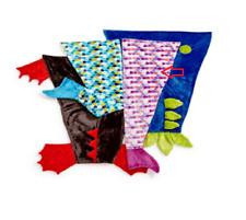 New Berkshire Blanket Cuddly Buddies Footie Throw Mermaid Tail 44 x 50 in