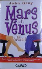 Mars et Vénus au travail bonnes relations au travail /H1