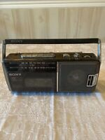 Vintage Sony CFM-140 Portable AM/FM Cassette Player Recorder - Tested/ WORKS!