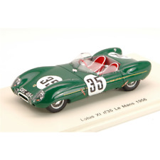 LOTUS XI N.35 COLLISION WITH A DOG LE MANS 1956 C.ALLISON-K.HALL 1:43 Die Cast