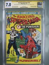 Amazing Spider-Man #129 CGC 7.0 SS Signed Gerry Conway, Roy Thomas & John Romita