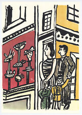 """Fernand Leger print from """"Mes Voyages"""" 33177"""