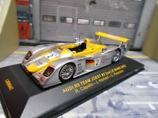 AUDI R8 Le Mans 2002 #2 Capello Herbert Pescarolo Joest 2nd Infineo IXO SP 1:43