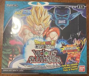Dragon Ball Super TCG Vicious Rejuvenation Booster Box SEALED