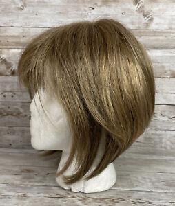 Gabor Flexlite Personal Fit Wig Adjustable Blonde Brown Slanted Bob Lace Front