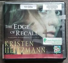 ☆10 CD AUDIOBOOK:KRISTEN HEITZMANN:THE EDGE OF RECALL-LABYRINTH ROMANCE SUSPENSE