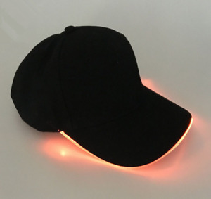 Unisex Led Light Up Baseball Caps Men Women Glowing Adjustable Hats Party Hip
