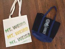 Lib Tech Gnu Mervin Jamie Lynn 20th Anniversary Mt. Weird Shopping Bags - RARE