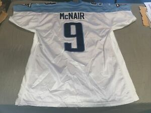 Adult Authentic 48 Xl Tennessee Titans STEVE MCNAIR Football Jersey Puma Clean