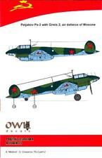 Owl Decals 1/48 PETLYAKOV Pe-3 Bomber with Gneis 2 Air Defense of Moscow