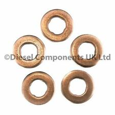 Lancia Ypsilon 1.3 D Bosch Common Rail Diesel Injector Washers Seals Pack of 5