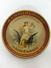 Antique 1910 Bartholomay Beer Ale And Porter Tip Tray Tough to find Rochester NY
