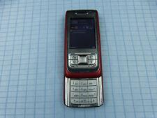 Original Nokia e65 rojo/plata usado!! sin bloqueo SIM! correctamente! rar!