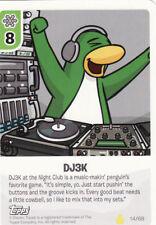 Disney Club Penguin Card-Jitsu Series 2 Trading Card #14/68 DJ3K