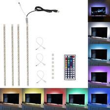 USB Powered RGB Colour Change 5050 LED Strip Computer TV Backlight Light Kit USA