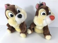 "VTG Disneyland Walt Disney World Chip and Dale 8"" Plush Toy VTG Disney  #3y2"
