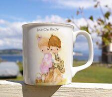 Precious Moments Coffee Mug 1984 Love One Another Jonathan David Enesco Butcher