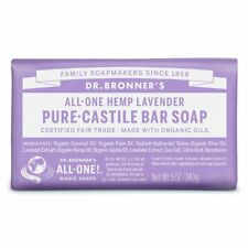 Dr. Bronner's  All-One Hemp Lavender Pure-Castile 5 oz Bar Soap FREE SHIPPING