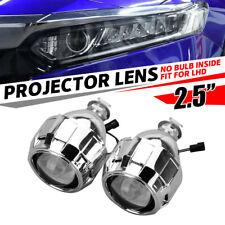 "LHD 2.5"" Mini Bi-Xenon HID Projector Lens Kit Car Headlight Lamp Shroud Housing"