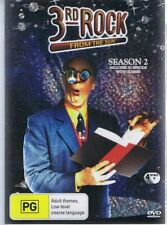 3RD ROCK FROM THE SUN - SEASON 2 - (DVD, 4-Disc set) no 3D glasses