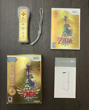 The Legend of Zelda: Skyward Sword - Gold Wii Remote - Bundle!!