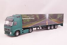 JOAL 380 Volvo FH12 Truck Globetrotter XL with Box Trailer Diecast Scale 1:50
