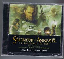 HOWARD SHORE CD OST (NEW) LE SEIGNEUR DES ANNEAUX/ LE RETOUR DU ROI ( A.LENNOX)